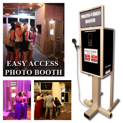 Easy to use Photo Booth